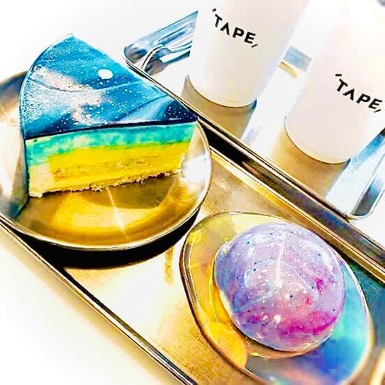梨泰院のおしゃれカフェcafetape(カフェテープ)