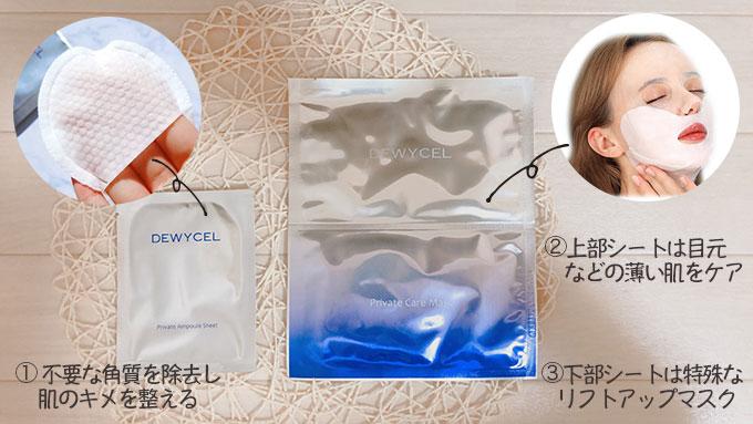 dewycel(デュイセル)マスクパックの詳細