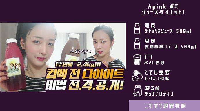 韓国アイドルの断食ダイエット法