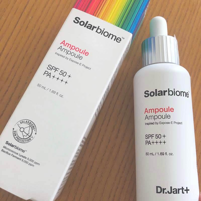 Dr.Jart+(ドクタージャルト)日焼け止め ソーラーバイオーム アンプル